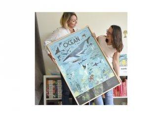 Kreatív poszter készítés matricákkal
