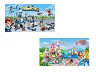 LEGO kompatibilis építőjátékok