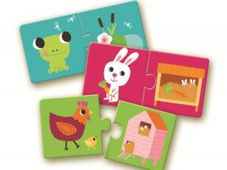 Baby puzzles, kirakós, párosító
