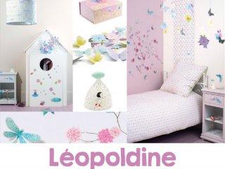 Pillangós-madaras szoba, Leopoldine
