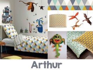 Lovagos-sárkányos szoba, Arthur