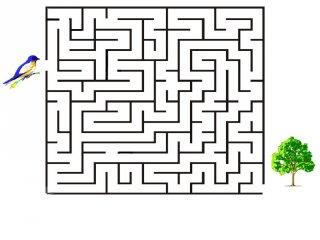 Nyomtatható labirintus játék