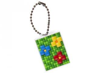 Pixel kulcstartó