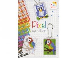 Pixel kulcstartó készlet (3in1)