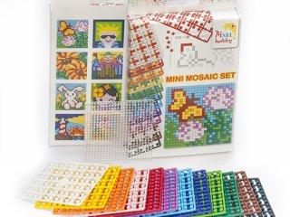 Pixel mosaic szett (1db6x6cm+12db szín)