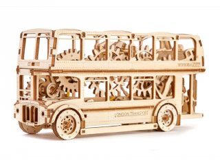 Wooden City mechanikus makett modell
