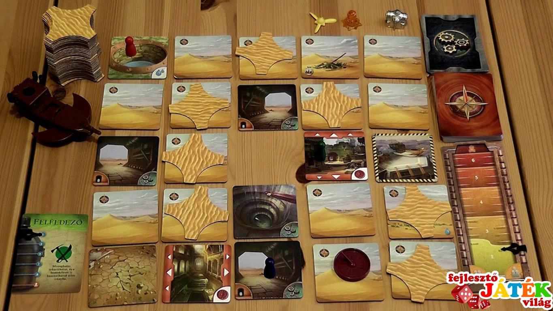 A Tiltott sivatag - Fejlesztő Játék Világ