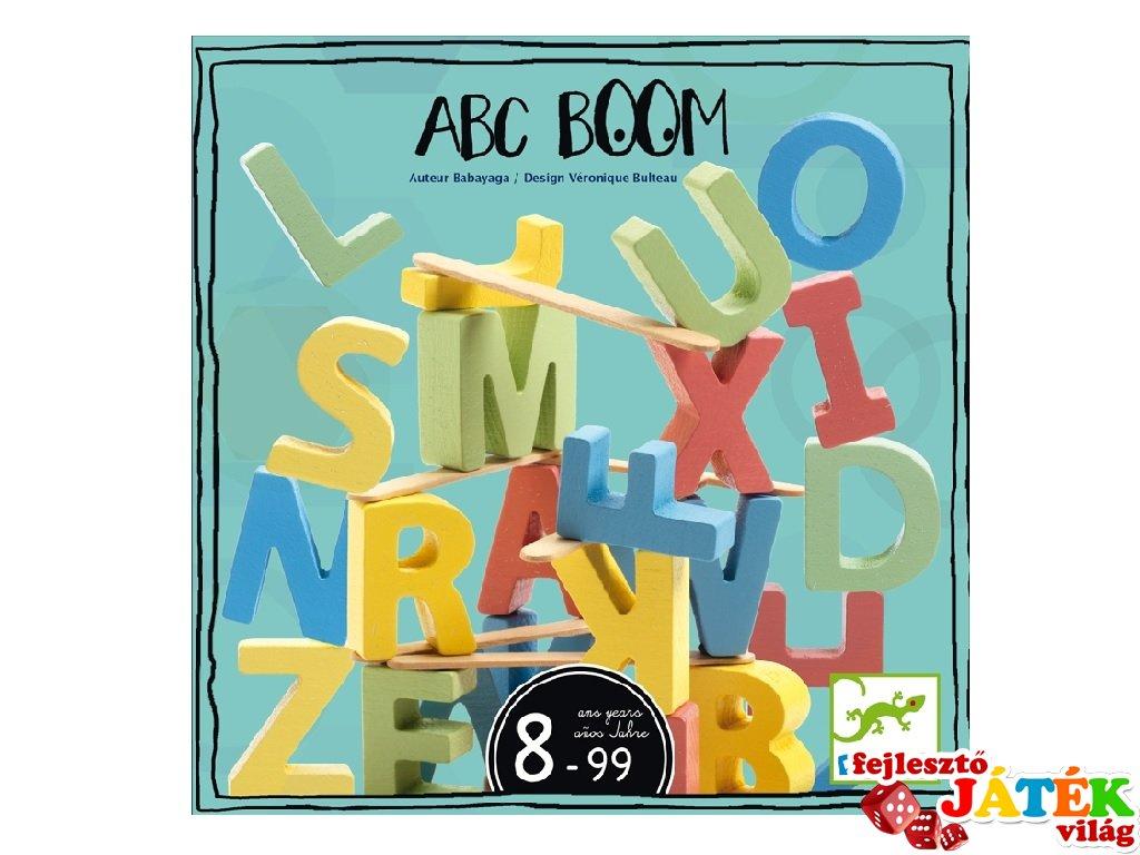 ABC Boom, Djeco társasjáték - 8543 (8-99 év)