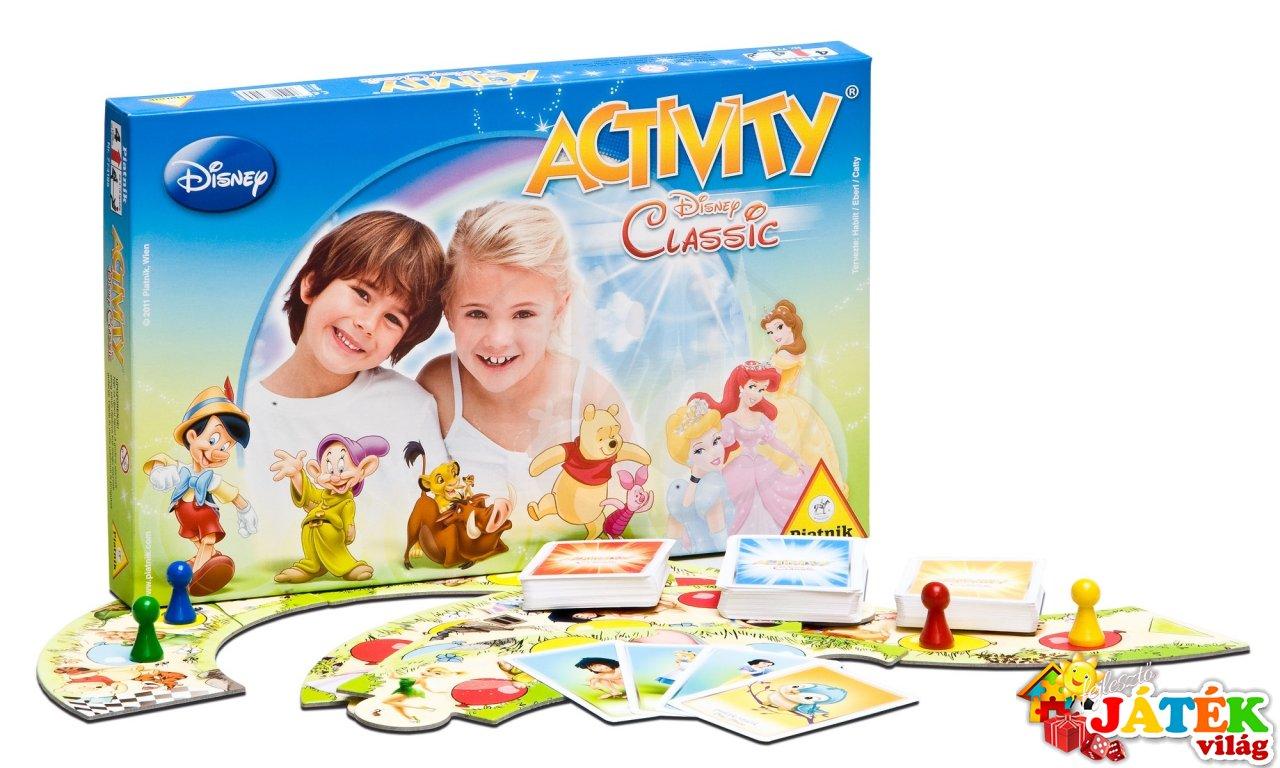 Activity Disney Classic (Piatnik, partijáték gyerekeknek, 4-12 év)