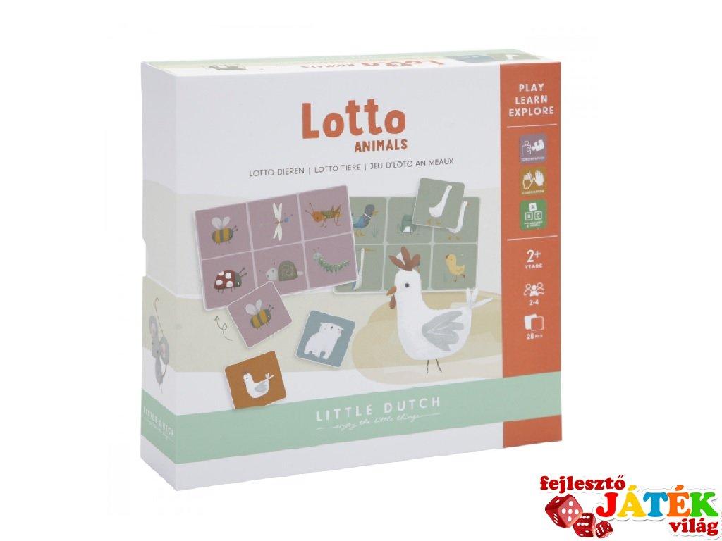 Állatos lottó, Little Dutch társasjáték (4751, 2-5 év)