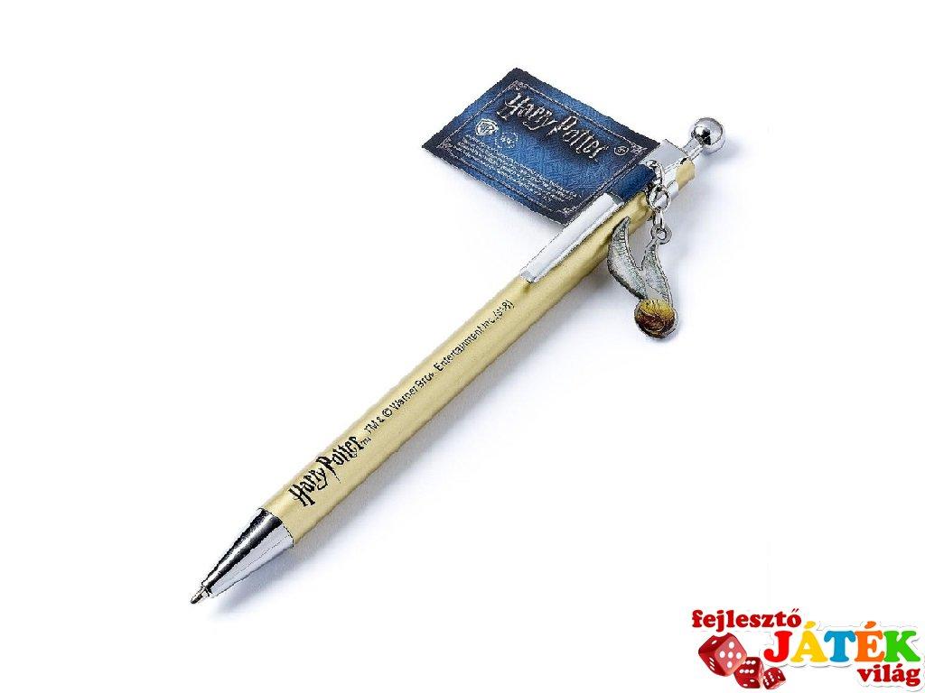 Aranycikesz toll amulettel, Harry Potter papír-írószer