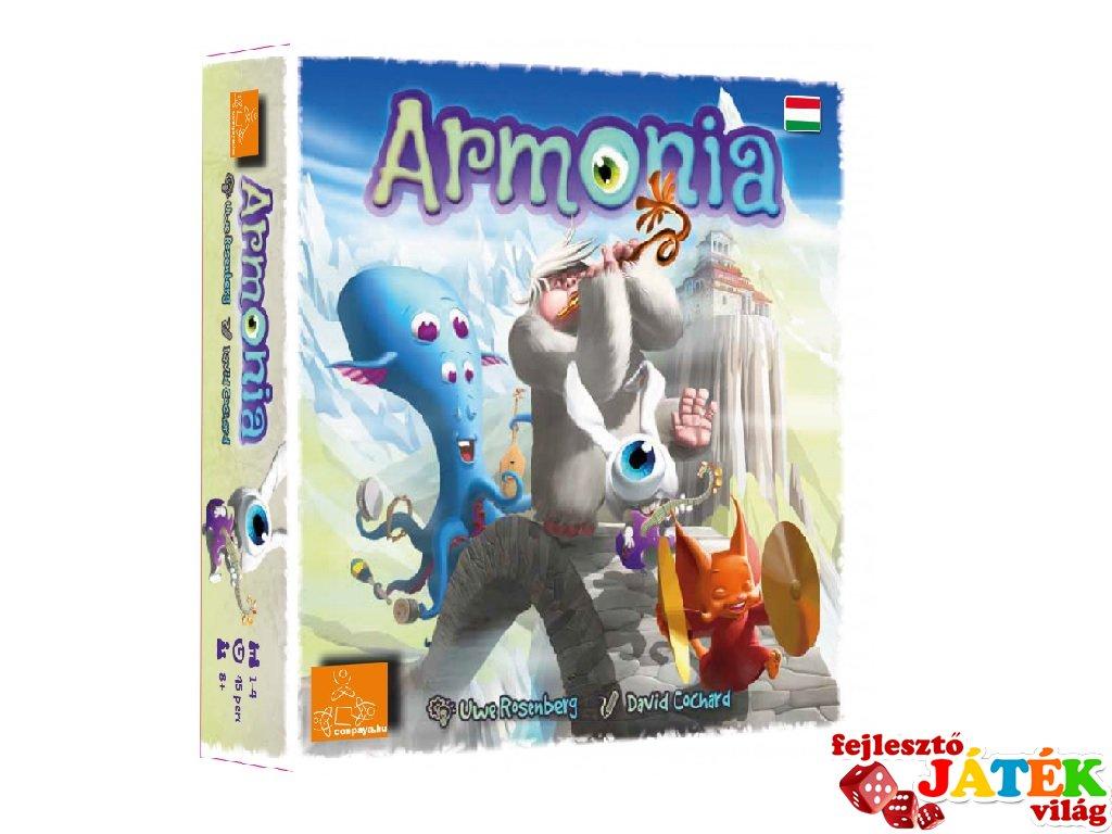 Armonia, stratégiai kockajáték (8-99 év)