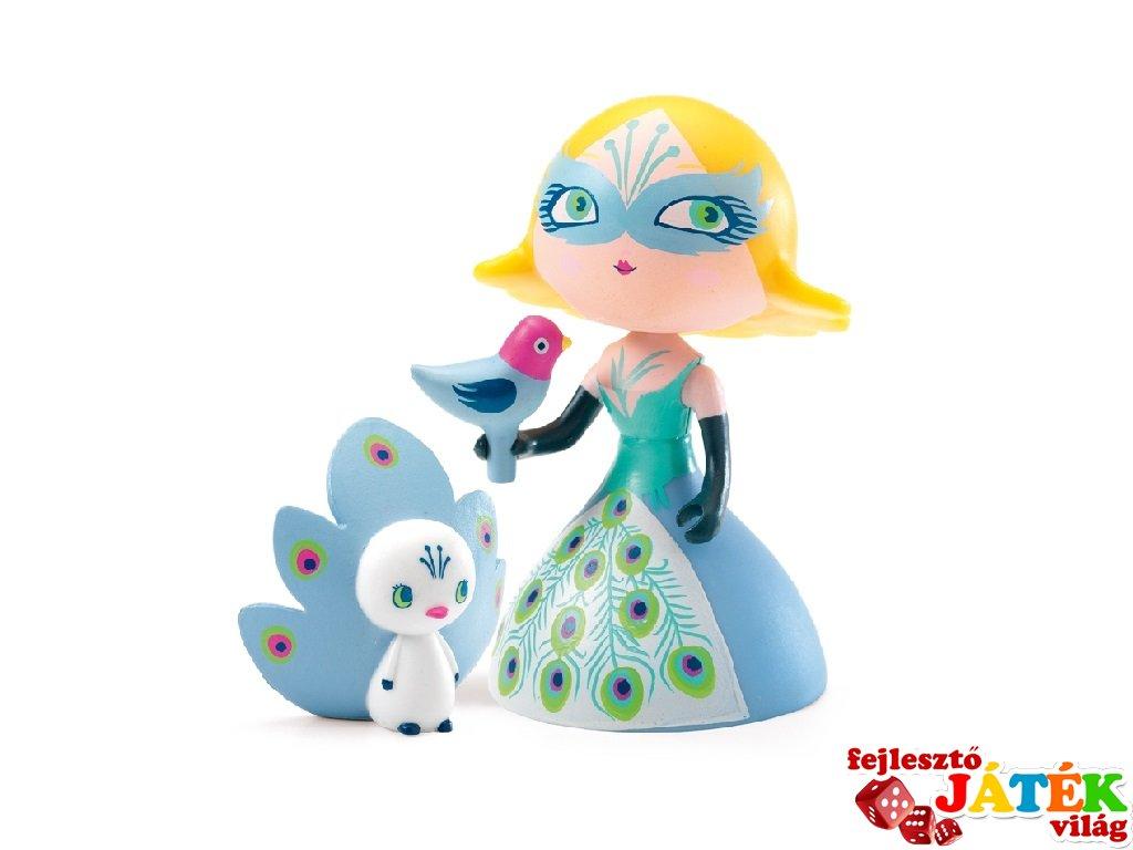 Arty Toys, Columba & Ze birds Djeco hercegnő figura madarakkal - 6784