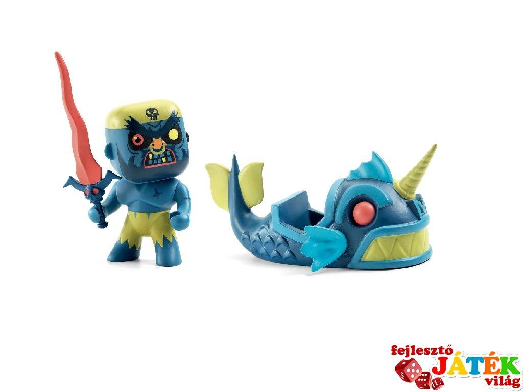 Arty Toys, Terrible & Monster Djeco Szörnyhajós kalóz figura- 6839