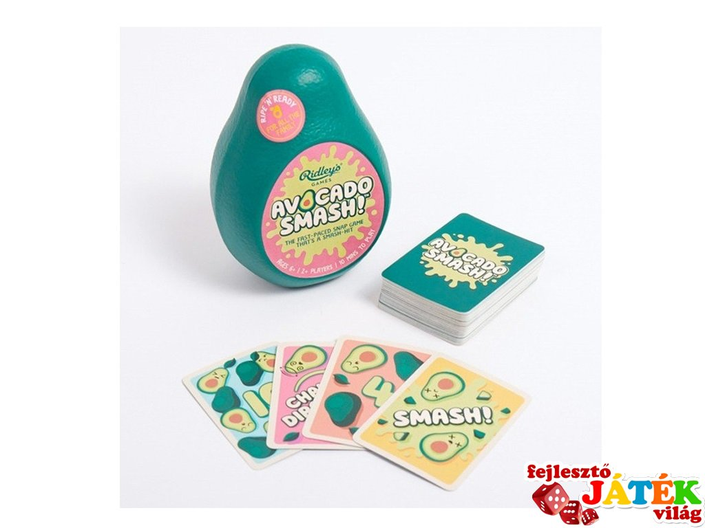 Avocado Smash, pörgős kártyajáték (6-99 év)