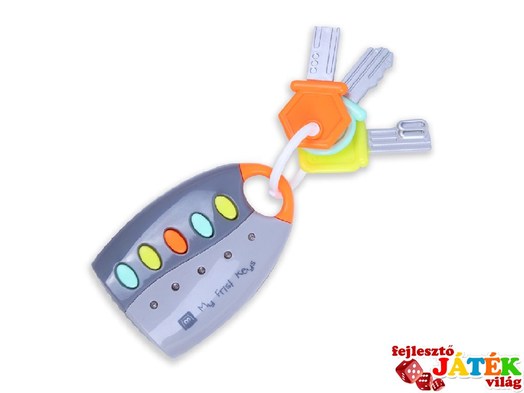 Az első zenélő kulcsom, babajáték (1-3 év)