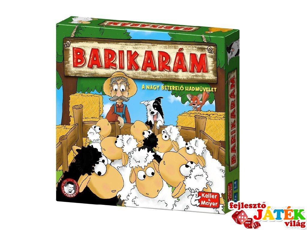 Barikarám, Keller & Mayer gazdálkodós társasjáték (7-12 év)