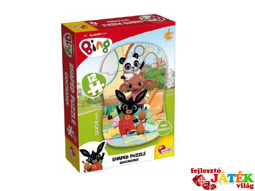 Bing nyuszi és barátai: Játsszunk! 12 db-os első kirakóm puzzle (2-4 év)