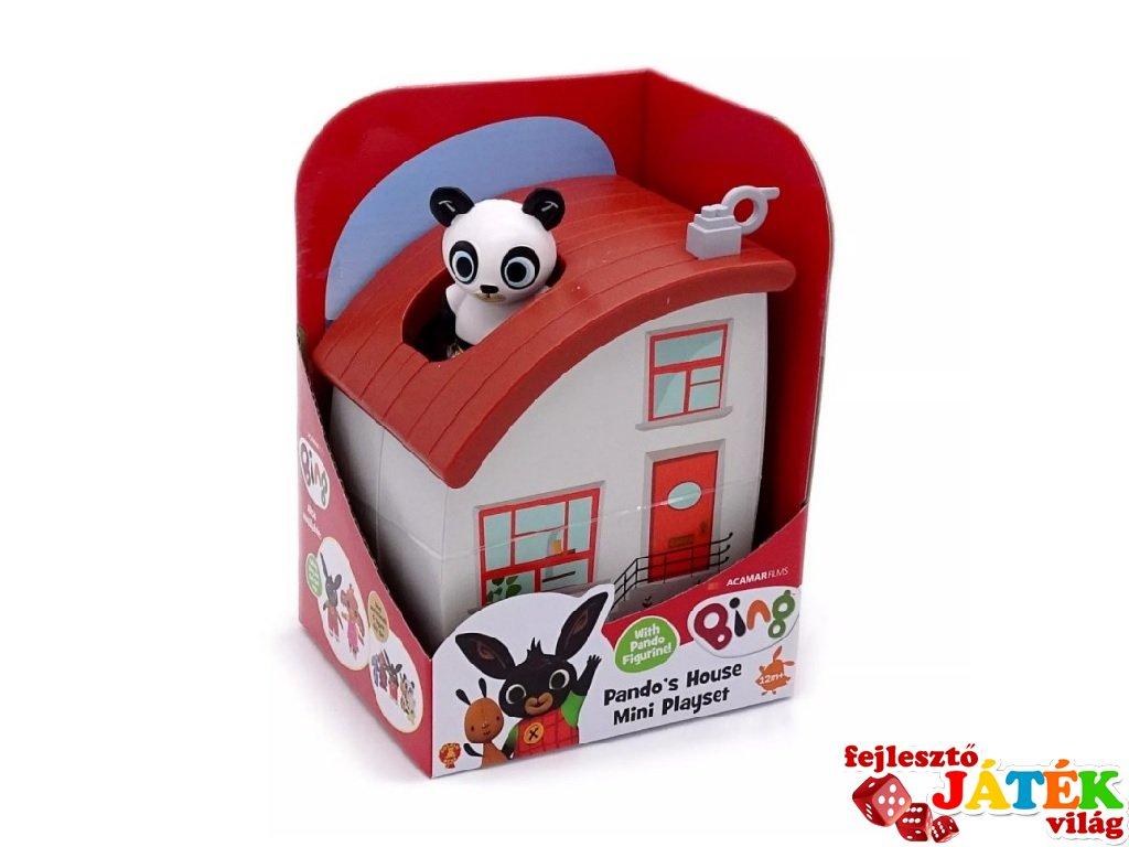 Bing nyuszi és barátai: Pando házikója készlet, szerepjáték (1,5-5 év)