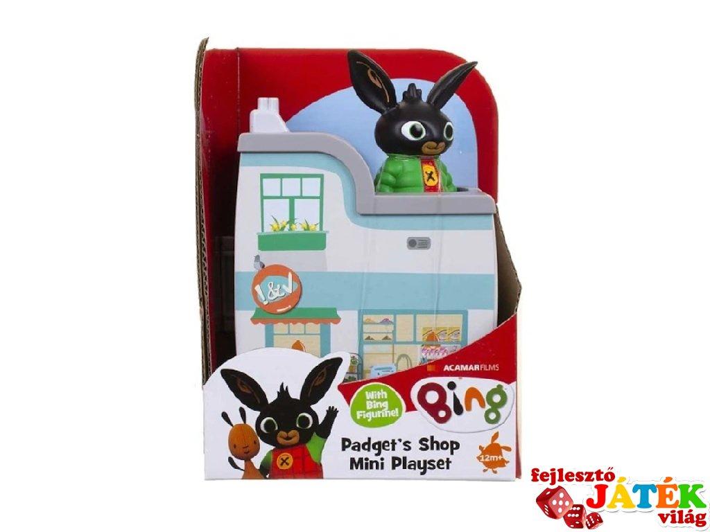 Bing nyuszi és barátai: Pola boltjában készlet, szerepjáték (1,5-5 év)