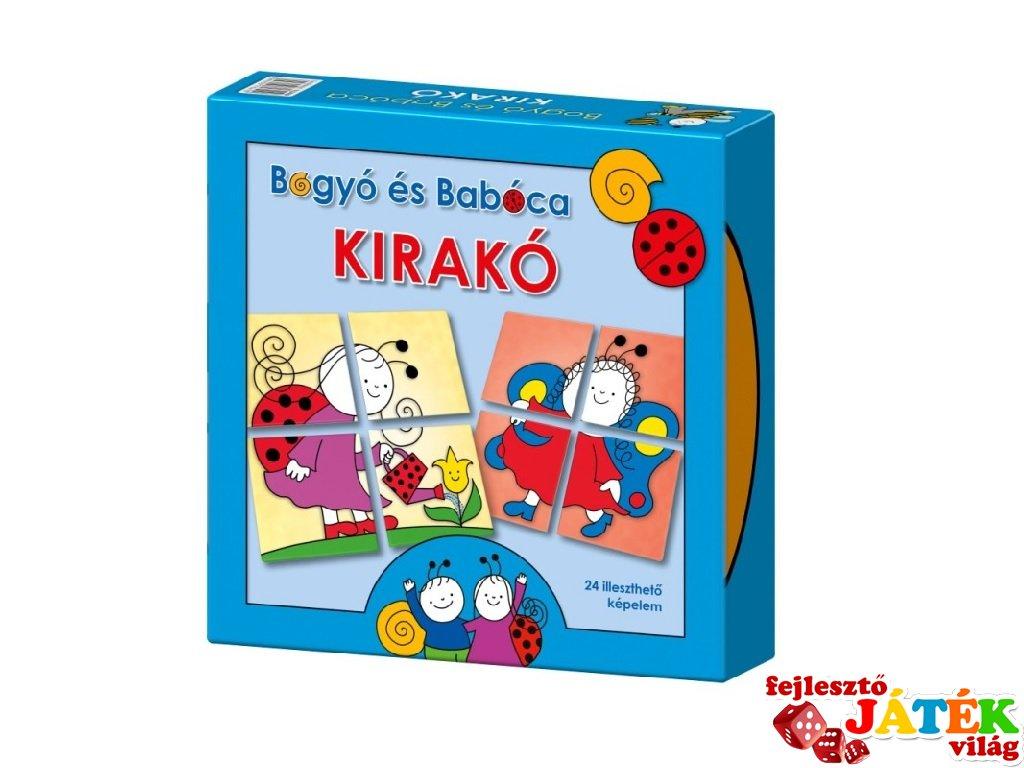 Bogyó és Babóca Kirakó, Keller & Mayer puzzle kicsiknek (2-4 év)