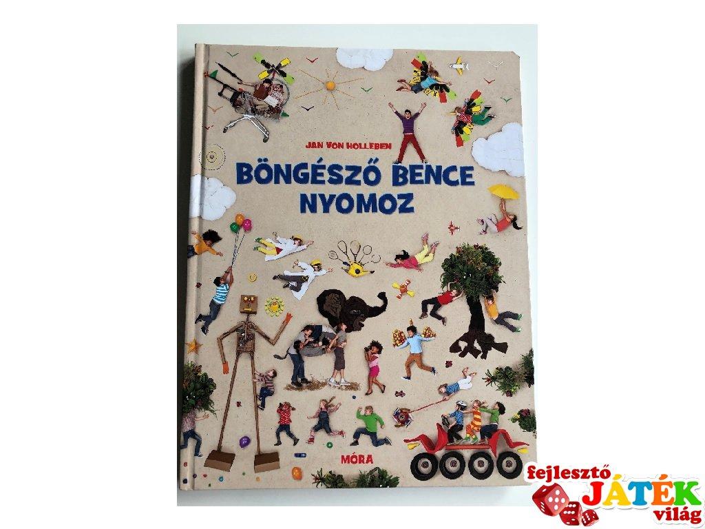 Böngésző Bence nyomoz, foglalkoztató könyv (MO, 6-10 év)