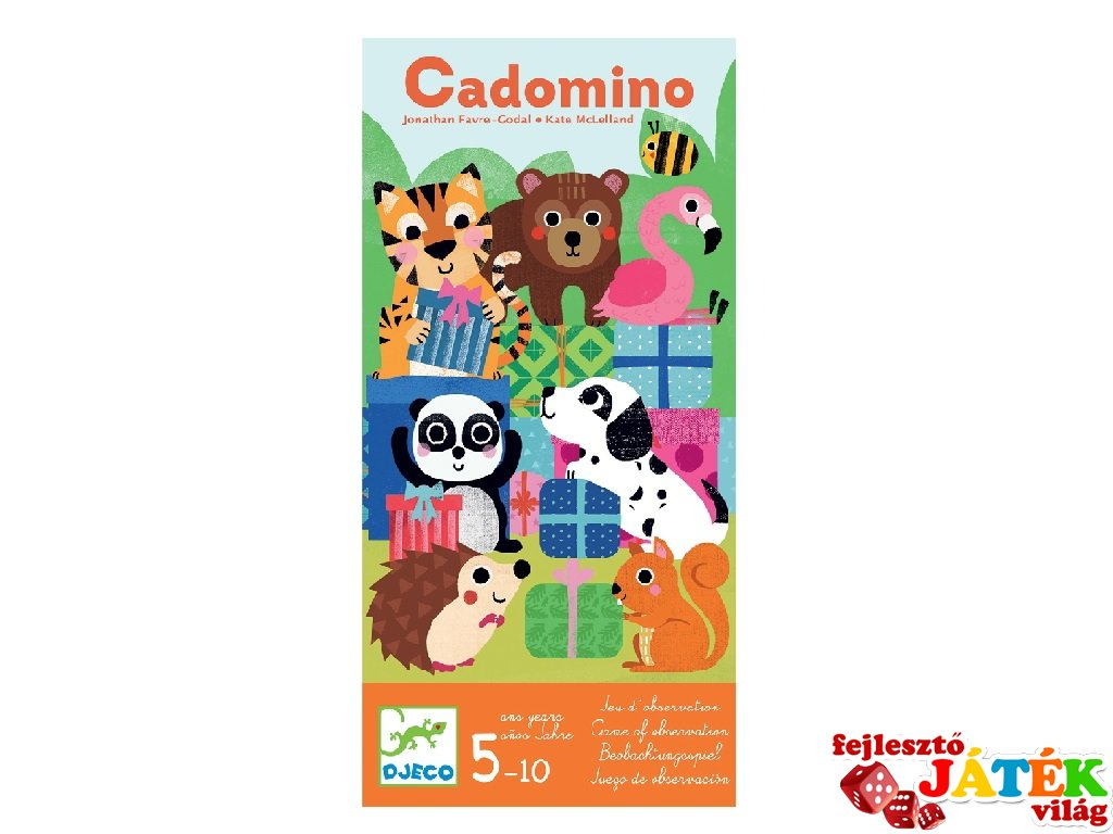 Cadomino, Djeco logikai társasjáték - 8549 (5-10 év)