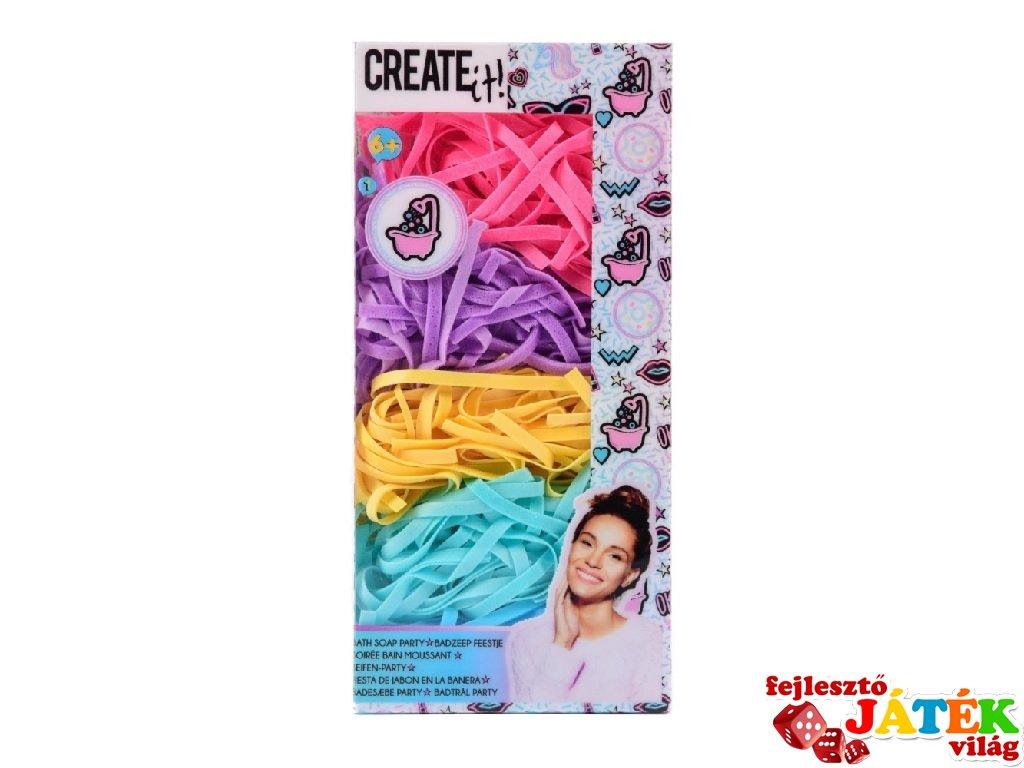 Canenco Create It! Fürdőszappan party szett, kreatív készlet (6-10 év)