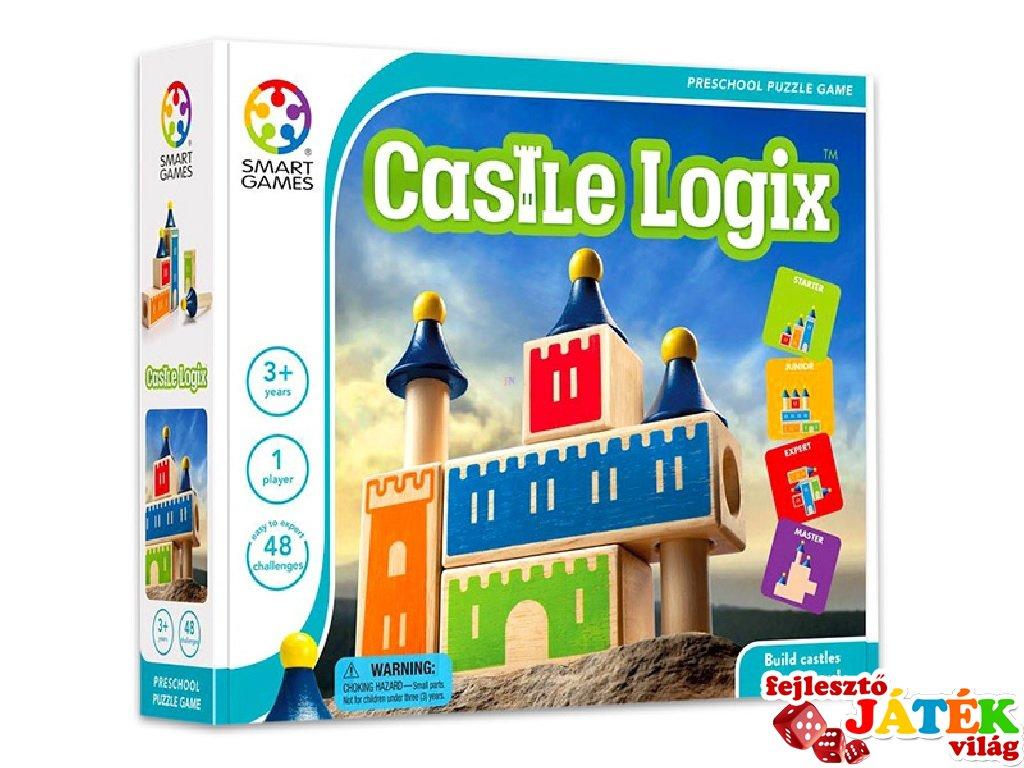 Castle Logix (Smart Games, egyszemélyes logikai játék, 3-8 év)