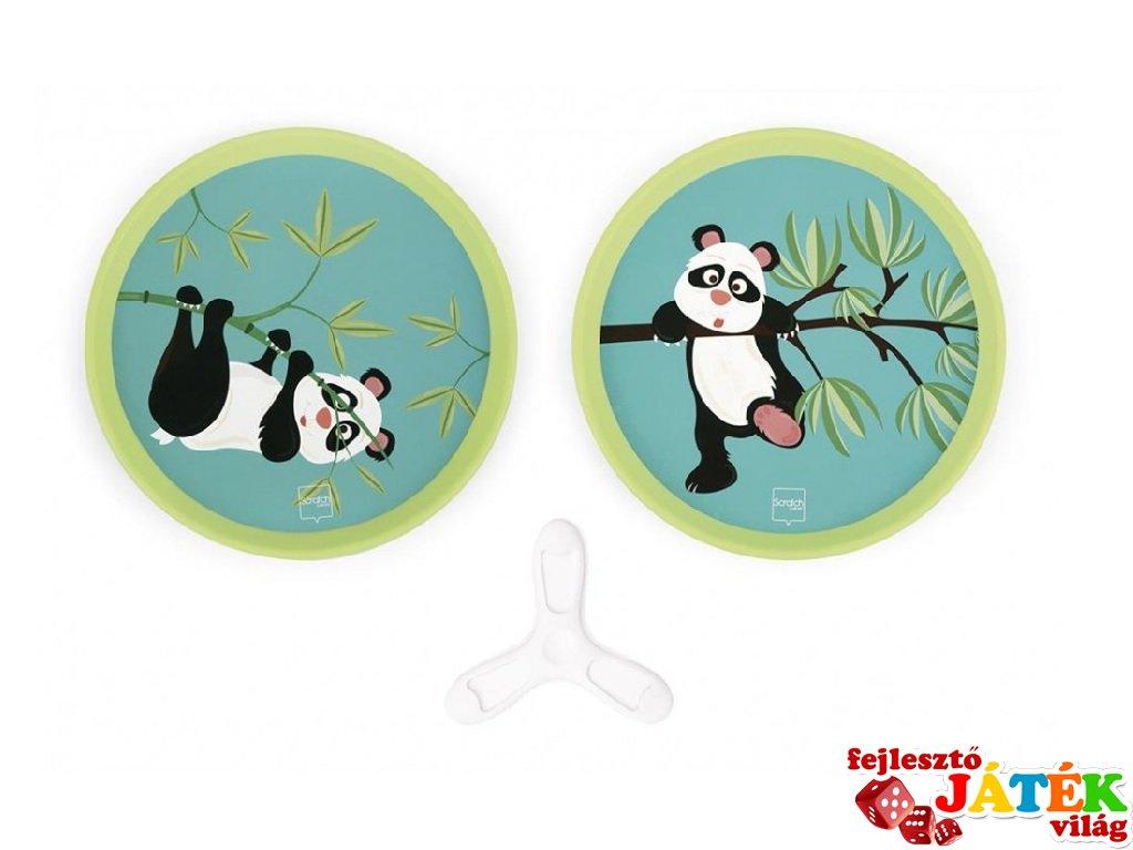 Catch Ball Pandák, ügyességi dobójáték (Scratch)