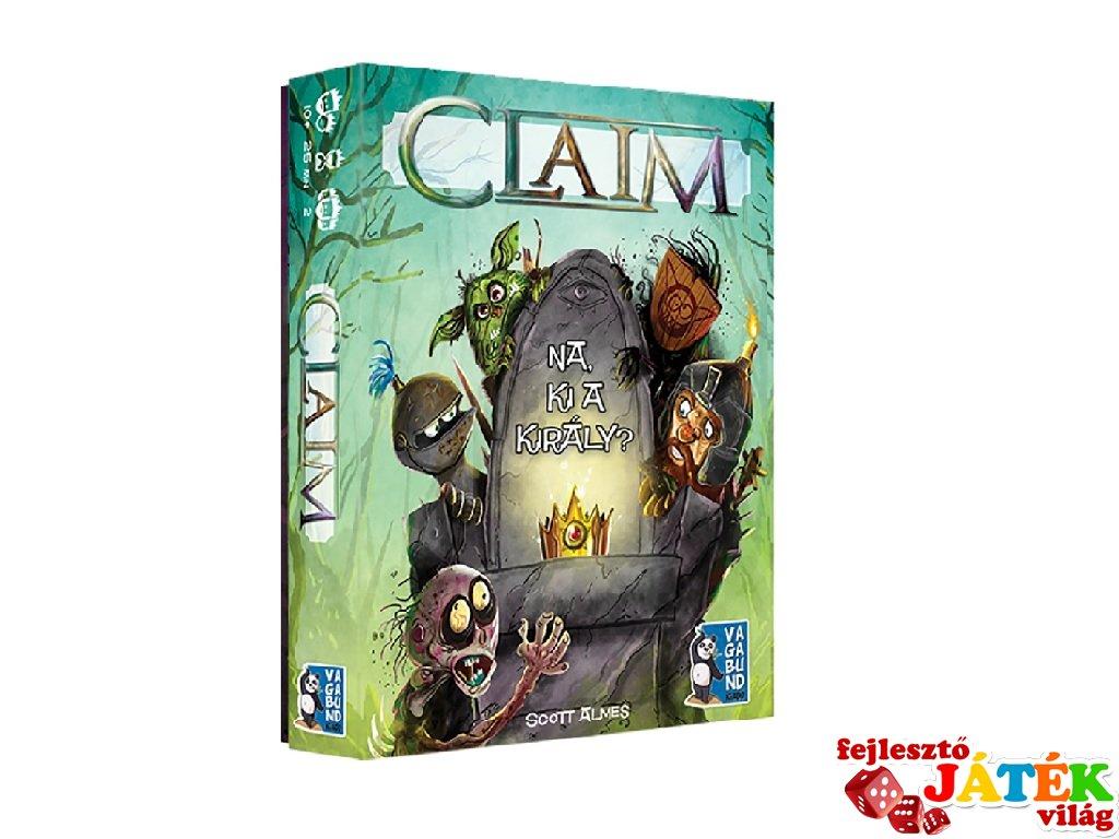 CLAIM Na, ki a király? kétszemélyes kártyajáték (10-99 év)