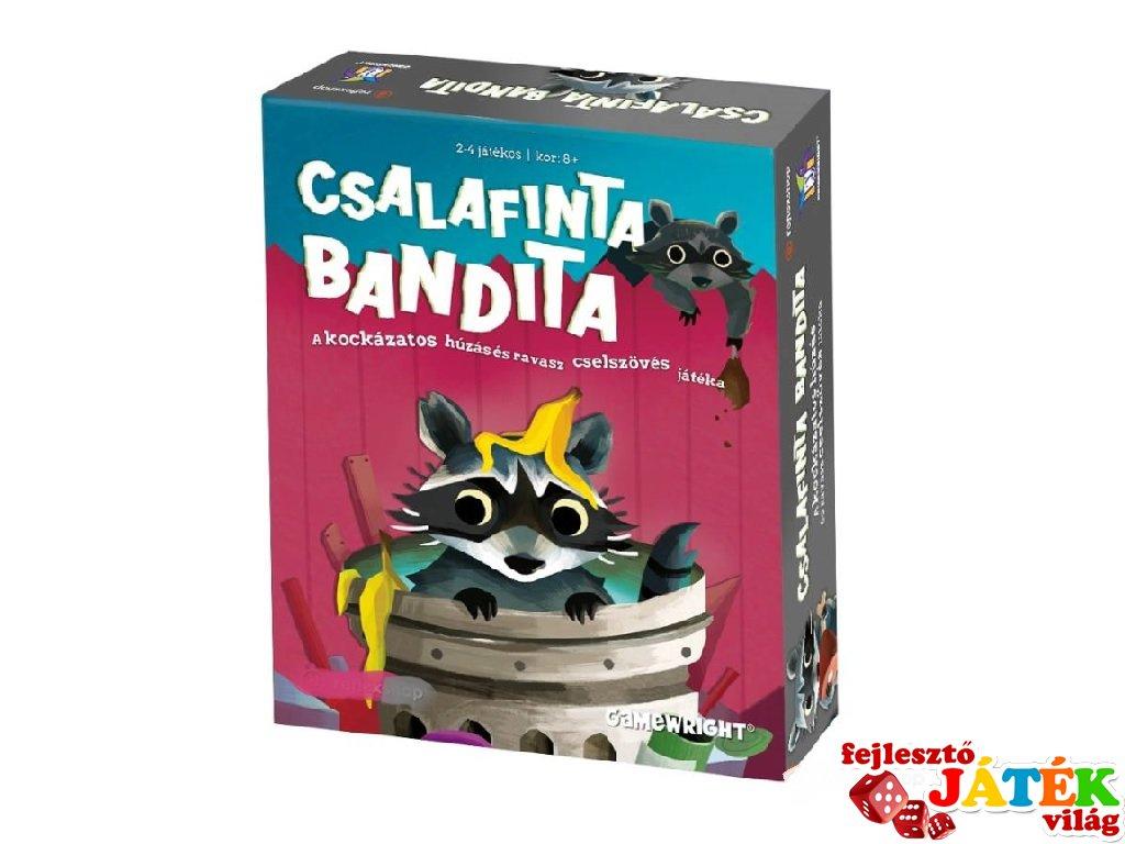 Csalafinta bandita kártyajáték (8-99 év)