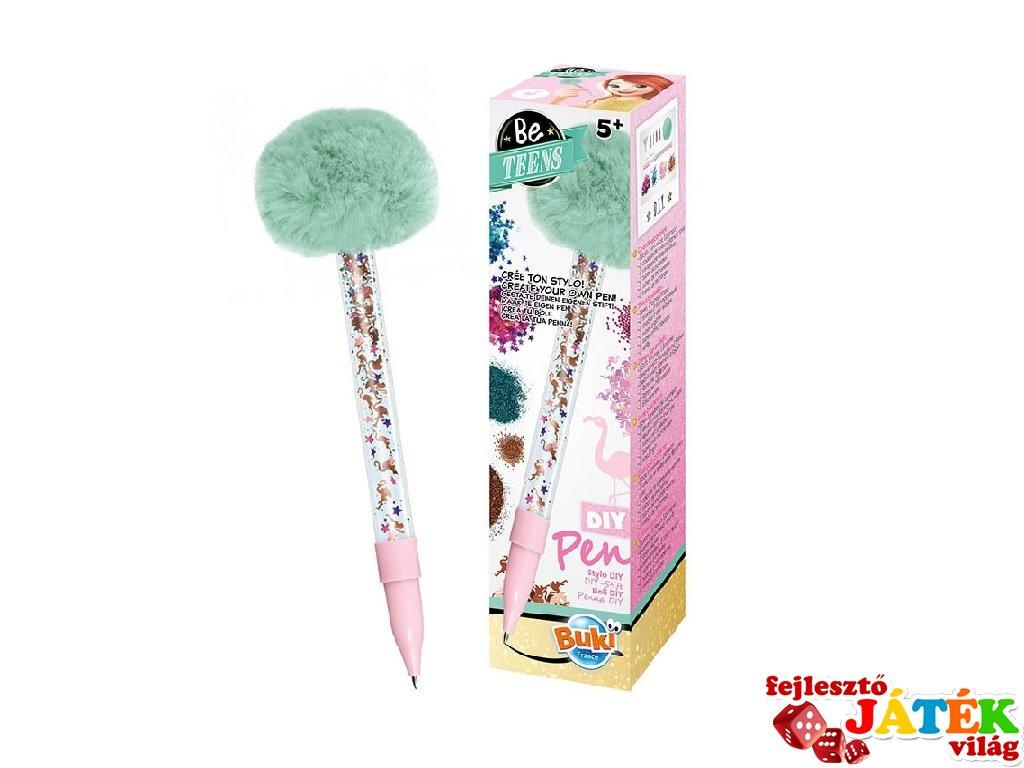 Csináld magad DIY toll Flamingó, Buki kreatív szett (5-10 év)
