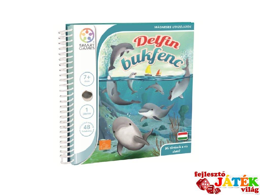 Delfin bukfenc, Smart Games egyszemélyes, mágneses logikai játék (7-99 év)