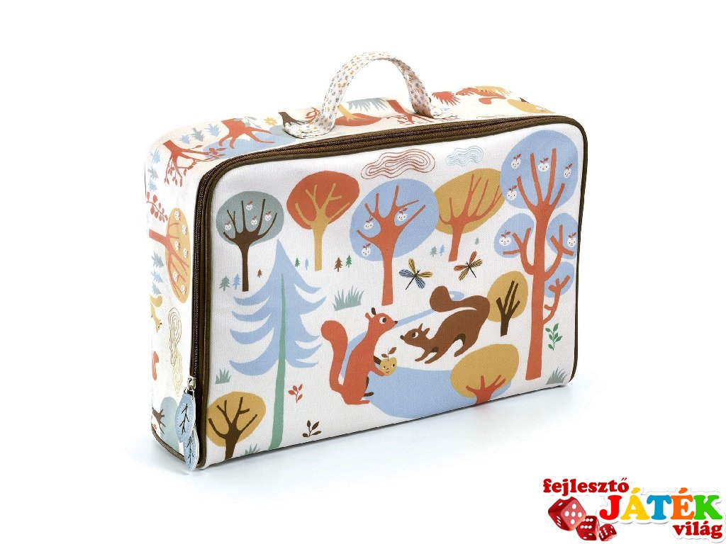Djeco táska utazáshoz, Mókusok - 270