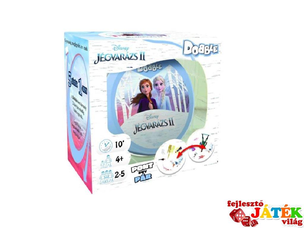Dobble Jégvarázs II, Asmodee, megfigyelős gyorsasági kártyajáték (4-7 év)
