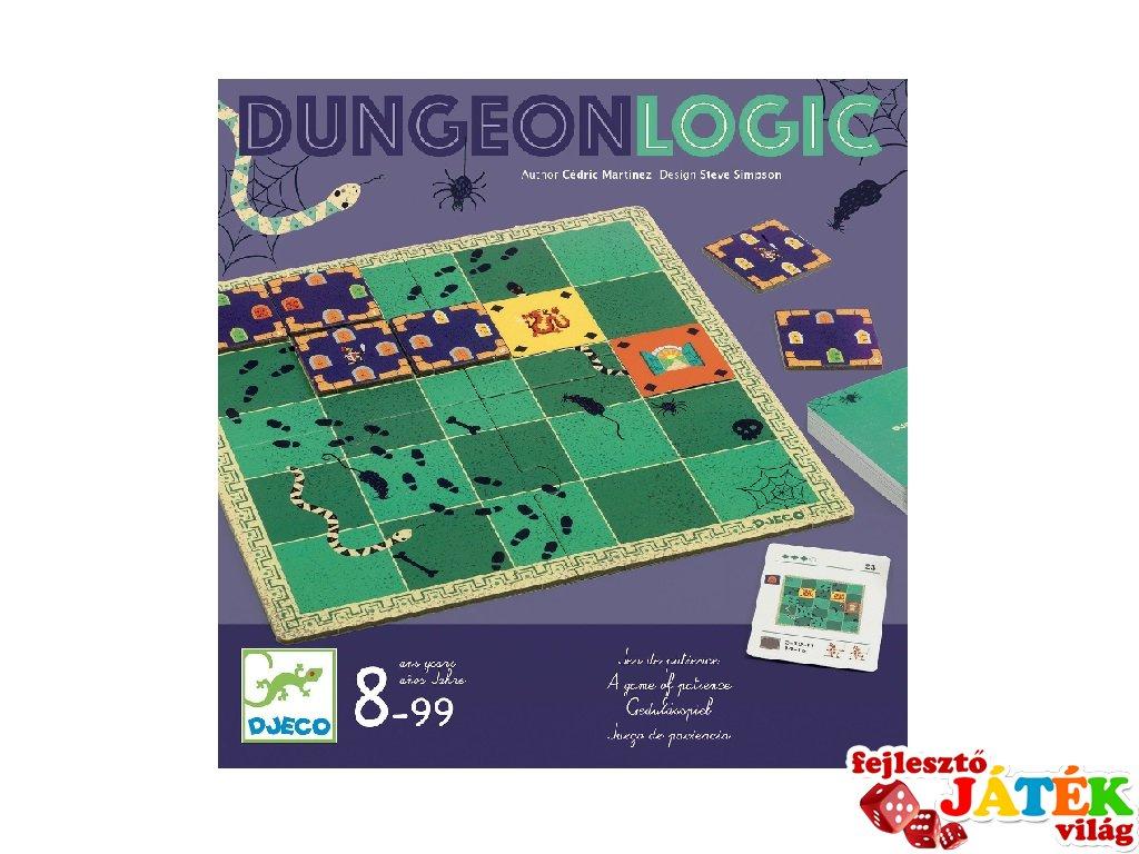 Dungeon logic Rabulejtő, Djeco logikai játék - 8570 (8-99 év)