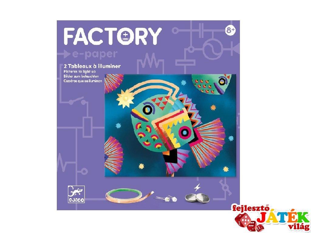 E-kreatív műhely Tenger mélyén, Djeco kreatív készlet - 9314 (8-14 év)