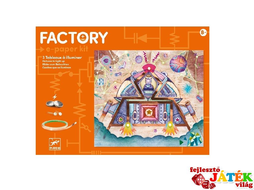E-kreatív műhely Űrutazás, Djeco kreatív készlet - 9310 (8-14 év)