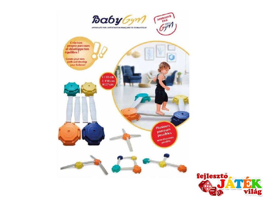 Egyensúlyozó készlet, mozgásfejlesztő játék (3-6 év)