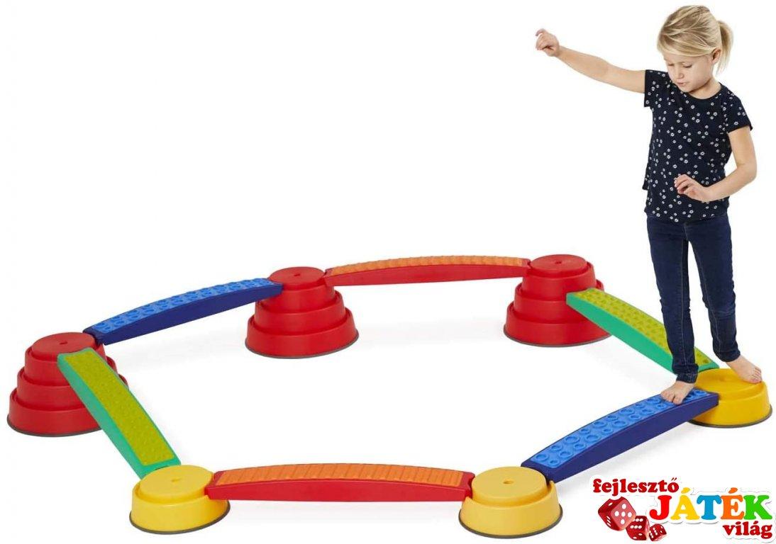 Egyensúlyozó készlet, mozgásfejlesztő játék (Gonge 2237, 3-99 év)