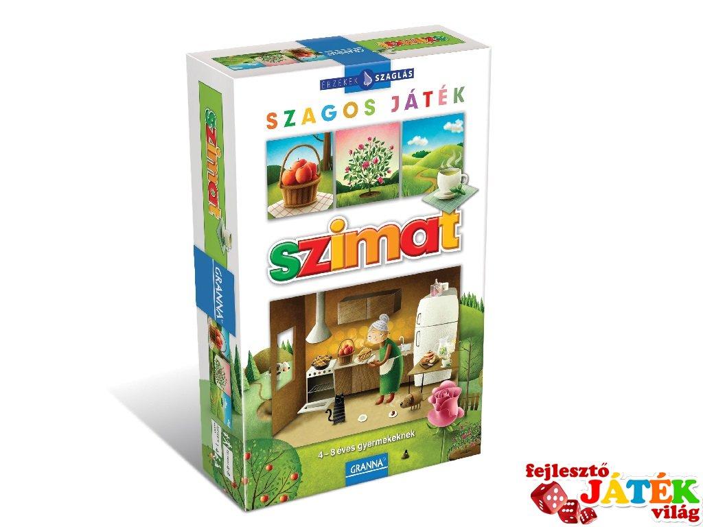 Érzékek sorozat, Szimat: Játék a szaglással (Granna, szagos memóriajáték illatfiolákkal, 4-8 év)