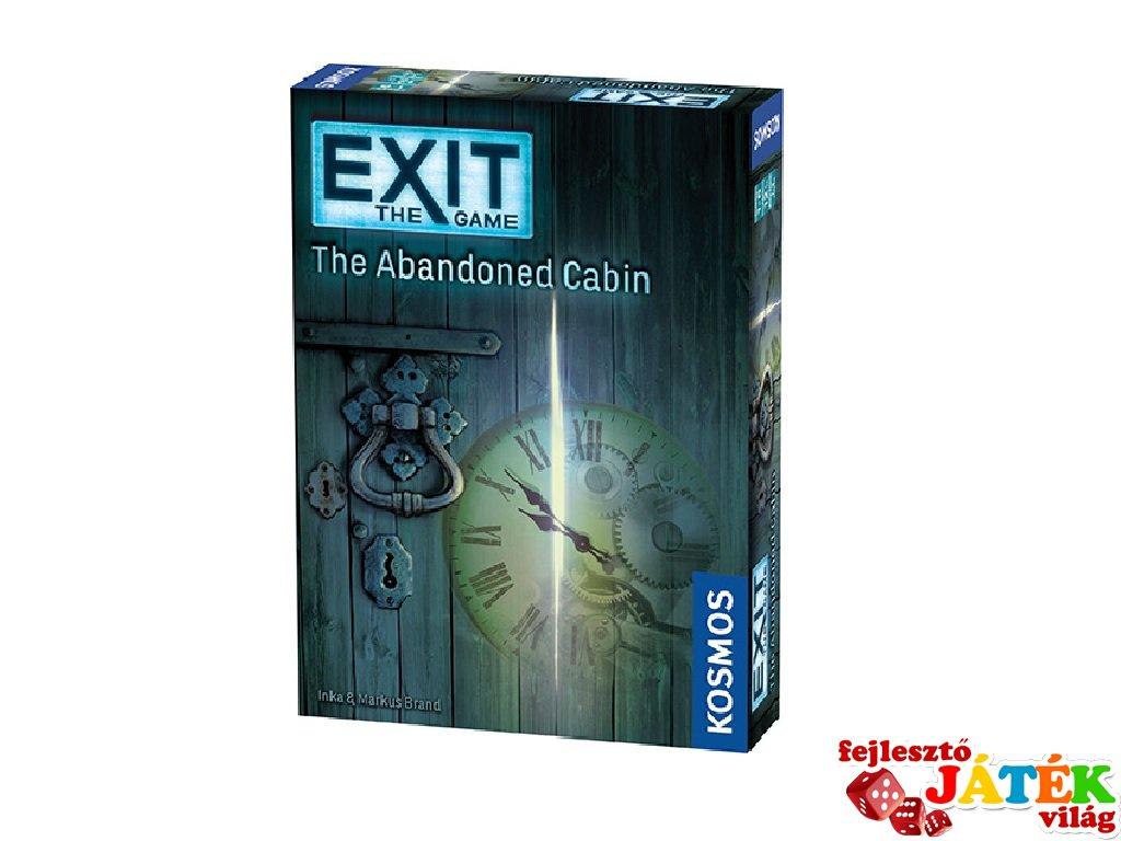Exit: A játék, Az elhagyott kunyhó (taktikai szabadulós társasjáték, 12-99 év)