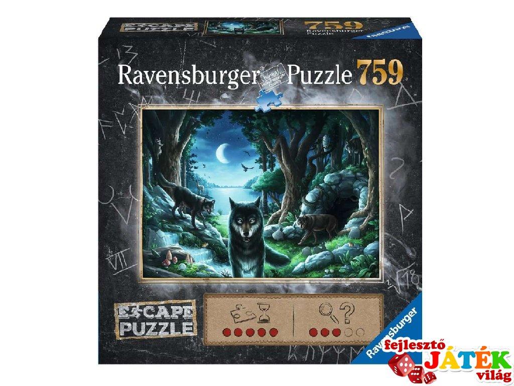 Exit puzzle A farkasok átka, 759 db-os nyomozós kirakó (12-99 év)