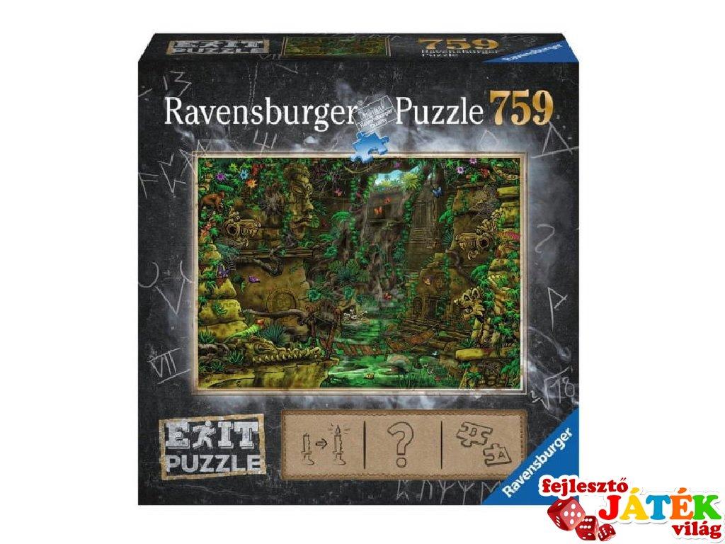 Exit puzzle Dzsungeltemplom, 759 db-os nyomozós kirakó (12-99 év)