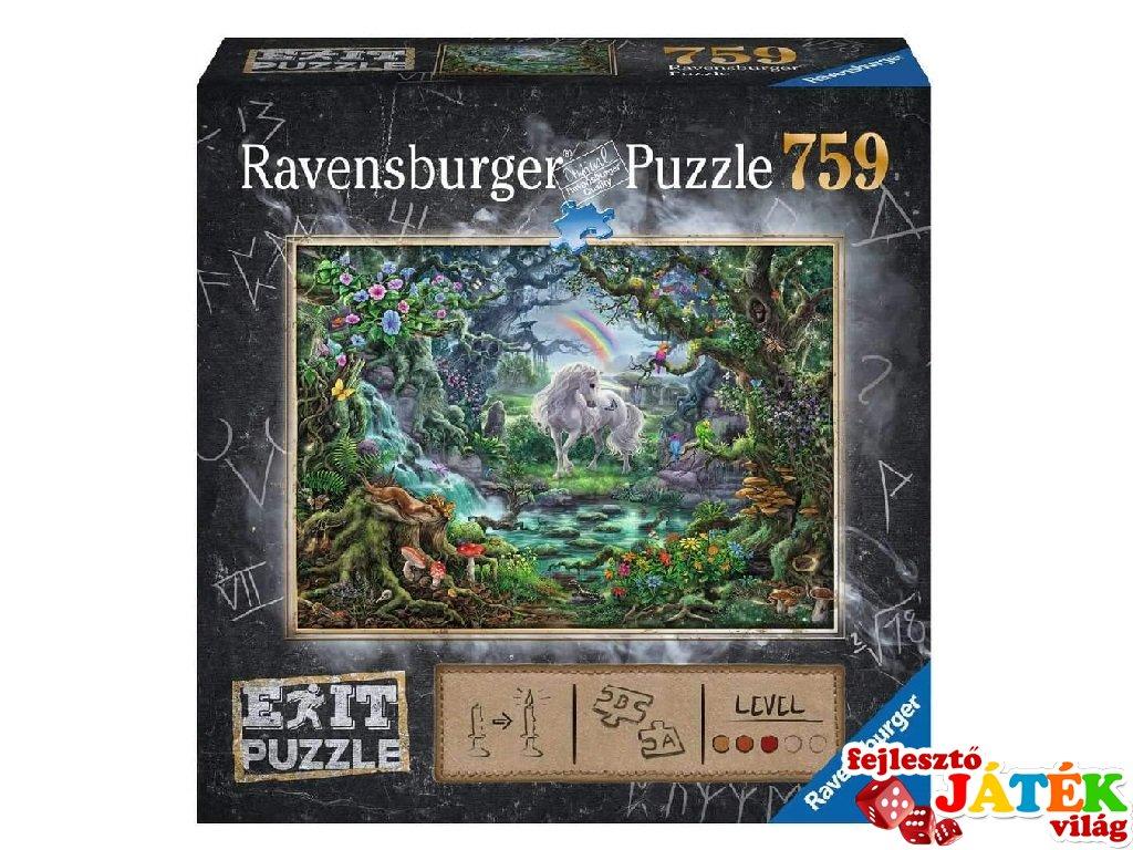 Exit puzzle Egyszarvú, 759 db-os nyomozós kirakó (12-99 év)