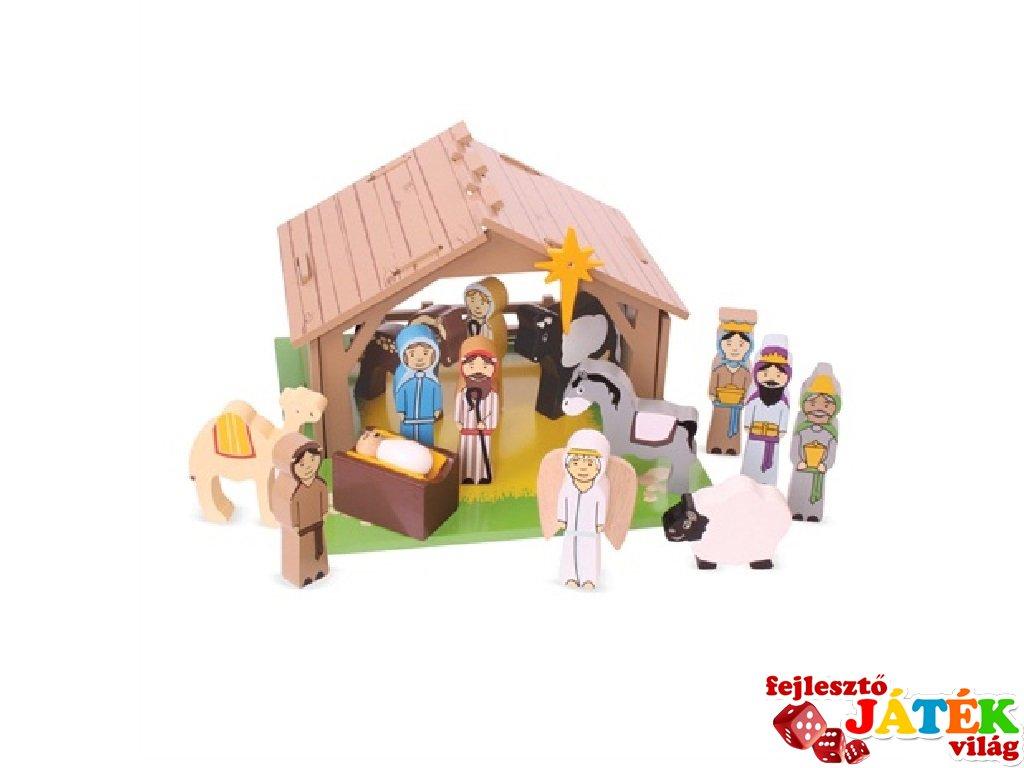 Fa Betlehem (Bigjigs, karácsonyi szerepjáték, 3-7 év)