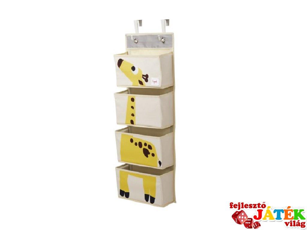Fali tartó zsiráf, gyerekszoba kiegészítő (3SPR)