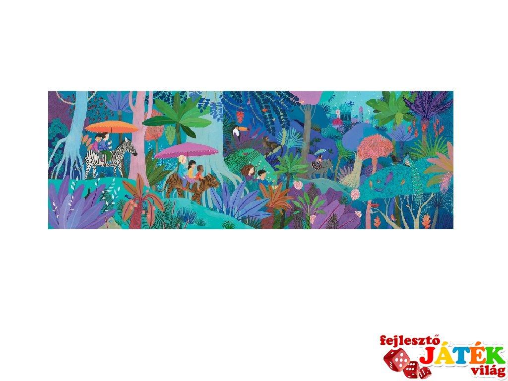 Festmény puzzle, Séta az erdőben, Djeco 200 db-os kirakó - 7607 (6-14 év)