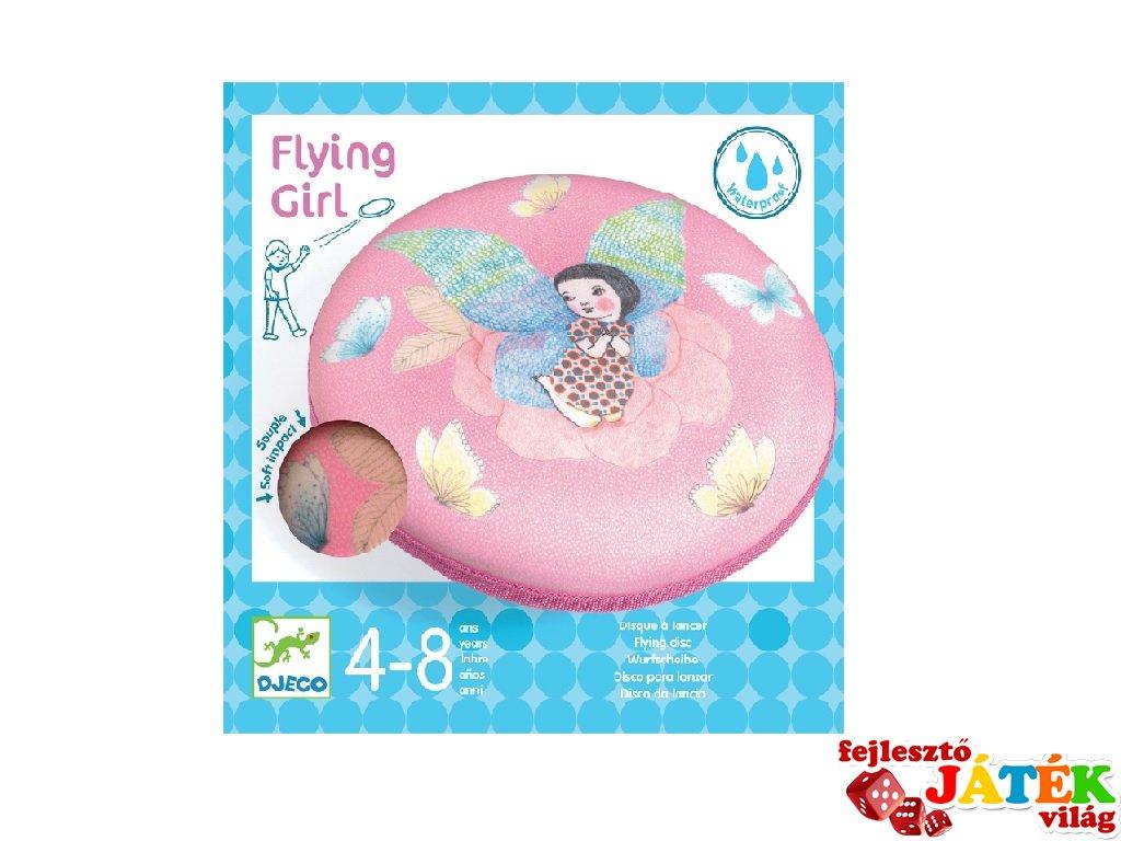 Flying Girl, Djeco rugalmas frizbi, mozgásfejlesztő játék - 2035